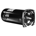 U.S. Motors - Emerson ASQ165 Square Flange Single Speed 1HP Up-Rated 48Y Pool Motor - 38653