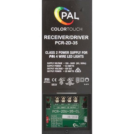 PAL PCR-2D 12v, 35w Receiver / Driver with Remote