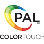 PAL RF Color Touch Remote with Wall Mount