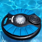 Blue Saturn Pool Speaker with Party Lighting