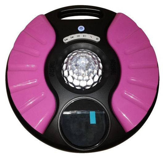 UFO-G4P Pink Saturn Pool Speaker with Party Lighting