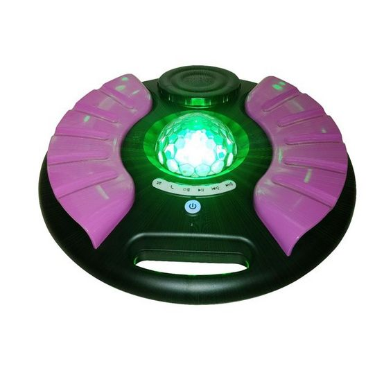 Sondpex  Pink Saturn Pool Speaker with Party Lighting