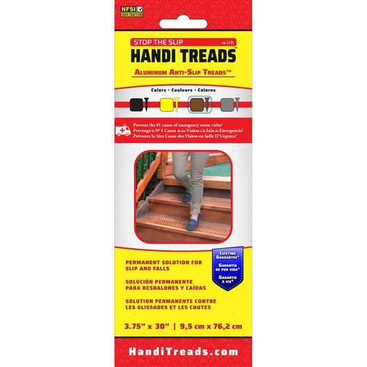 Non-Slip Aluminum Tread, Brown