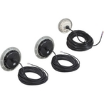 PAL EvenGlow Dual LED RGB PoolSpa Light Kit, 2 Pool 1 Spa, 80' Cord