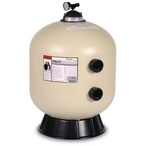 """Pentair - EC-140264 - 24"""" Side Mount In Ground Pool Sand Filter - Limited Warranty - 387199"""