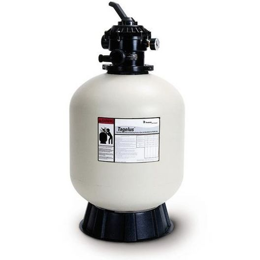 """Pentair - EC-145241 - 24.5"""" Top Mount Sand Filter with Valve for In-Ground Pools - Limited Warranty - 387201"""