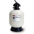 "EC-145241 - TA60D Tagelus 24.5"" Top Mount Sand Filter with Valve for In-Ground Pools - Limited Warranty"