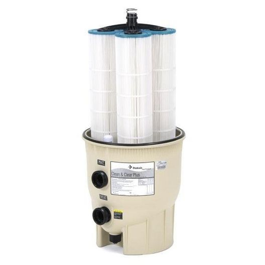 EC-160332 - 520 sq. ft. In Ground Pool Cartridge Filter - Limited Warranty