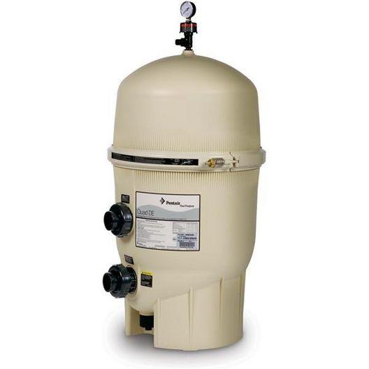 EC-188593 - Quad DE 80 Sq Ft In-Ground Pool DE Filter - Limited Warranty