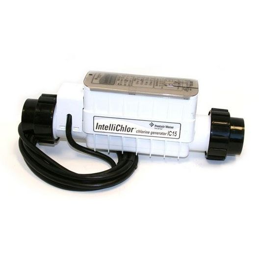 EC-520888 - IntelliChlor IC15 Salt Cell with Cord and Power for Smaller Pools - Limited Warranty