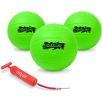 GoSports - Water Volleyball 3 Pack w/ Air Pump - 387260