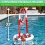 Splash Pass Floating Pool Football Game