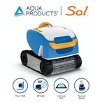 Aqua Products - Sol In-Ground Robotic Pool Cleaner - 387314