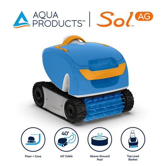 Sol Robotic Above Ground Pool Cleaner