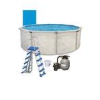 "Resort 15' X 48"" Round Above Ground Pool Package - 387873"