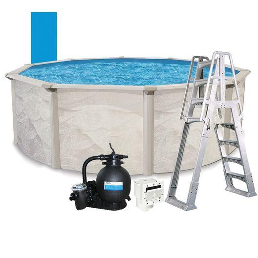 Resort 21 X 48 Round Above Ground Pool Package