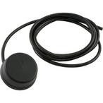 Herga  Air Button Mushroom with Tubing Black