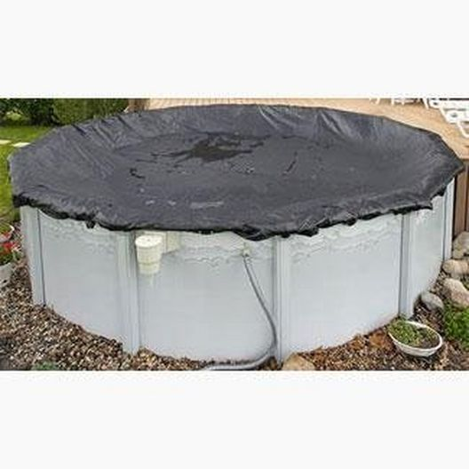 RipStopper 18' x 38' Oval Above Ground Pool Winter Cover, 20 Year Warranty, Green