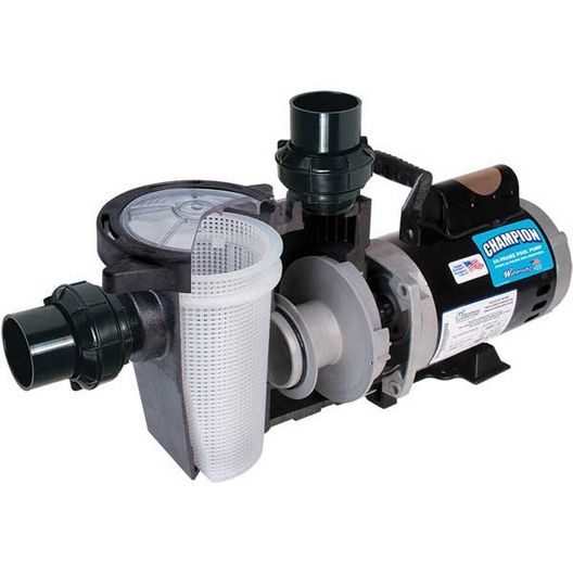 Waterway - Champion Pump 56FR 1HP - 388043