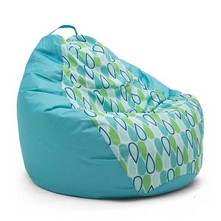 Big Joe - 132 Tear Drop Chair, Cool Geo Drop