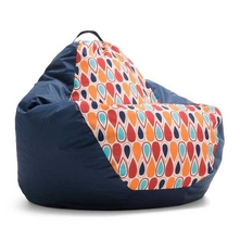 Big Joe - 132 Tear Drop Chair, Fiesta Cool Drop