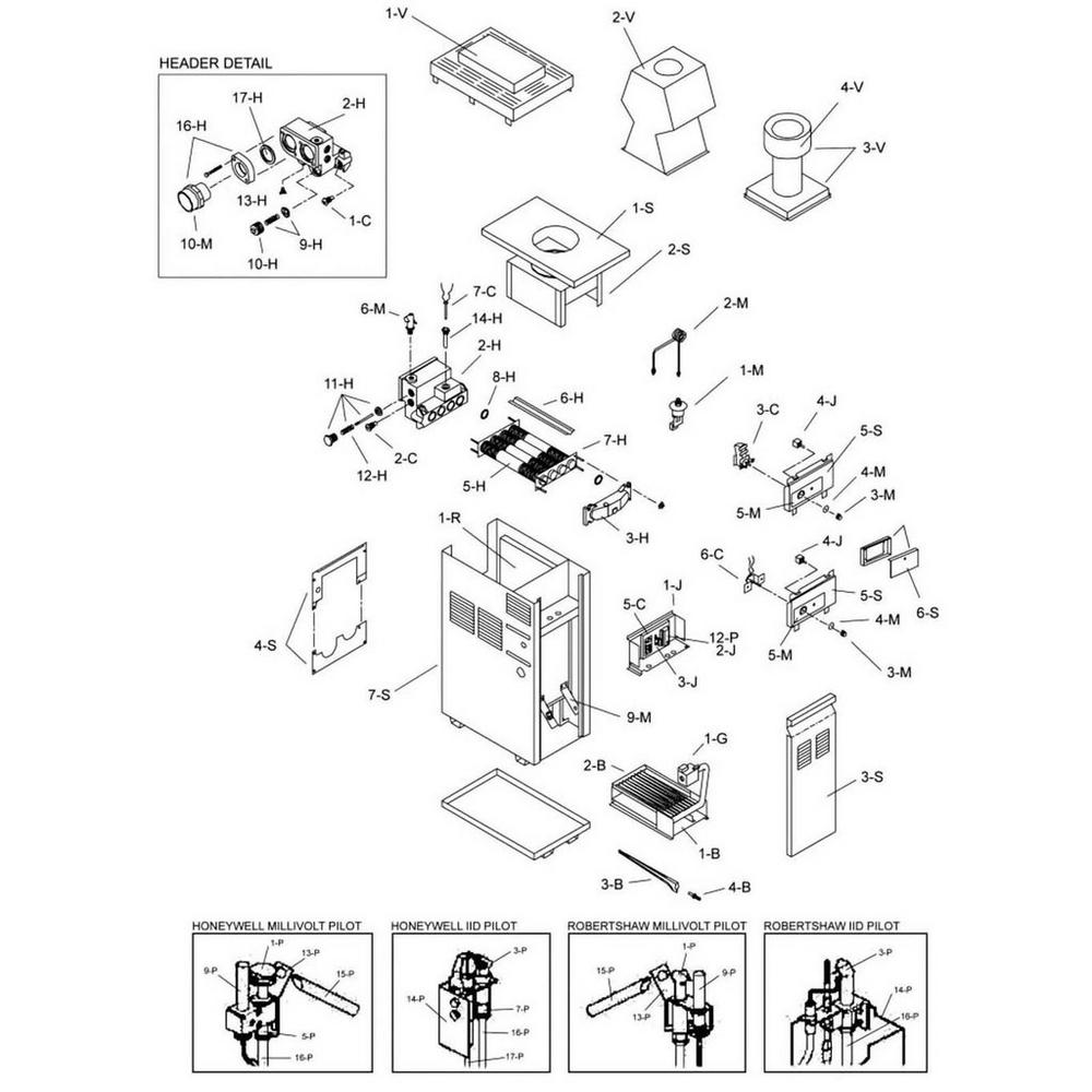 Raypak Heater 155 Series 155B/C Heater image