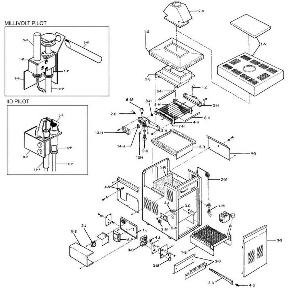 Raypak Heater 183-403 Heater image