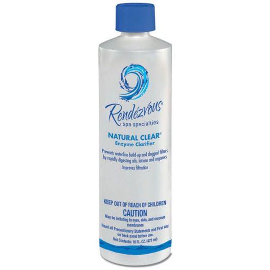 Natural Clear Spa Clarifier - 16oz