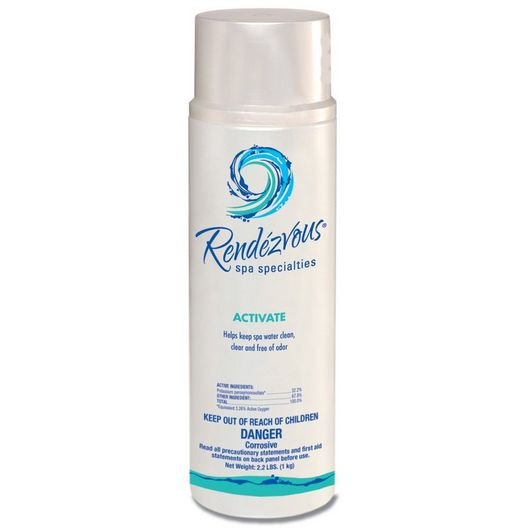 Rendezvous  Activate Non-Chlorine Shock Oxidizer  2.2lbs