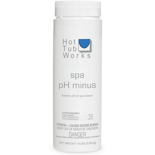 Spa pH Minus Spa Alkalinity Reducer - 1.5lbs