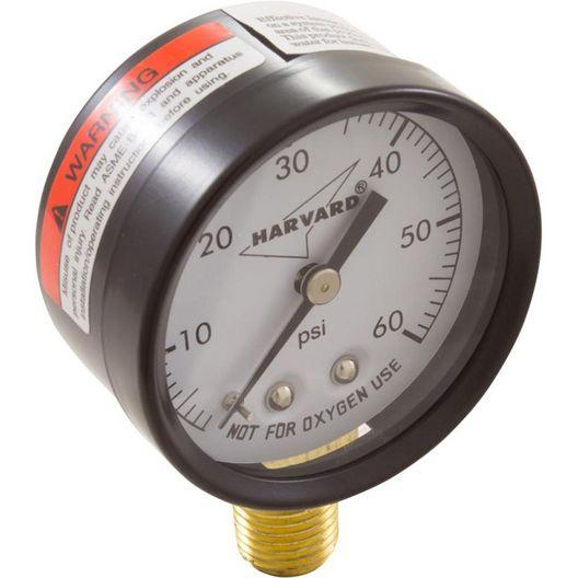 "American Granby  Pressure Gauge 1/4""mpt 0-60psi Bottom Mount"