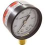 """Pressure Gauge, 1/4""""mpt, 0-60psi, Bottom Mount"""