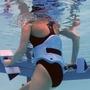 AquaJogger Fitness Belt, Classic, Blue