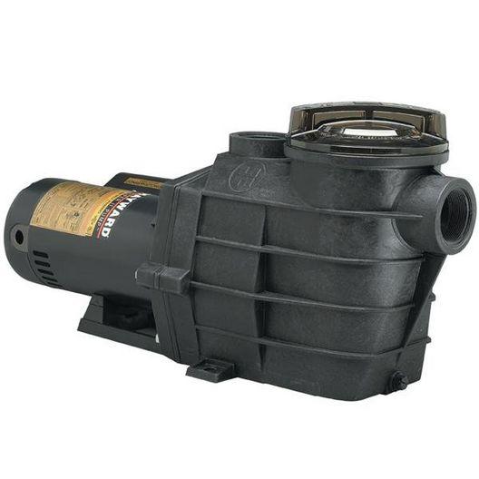 Super II Up-Rated Dual Speed 2HP Pool Pump, 230V