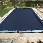20' x 40' - Pool Size / 25' x 45' - Cover Size / 15 Blue 8ft. Double Water Tubes