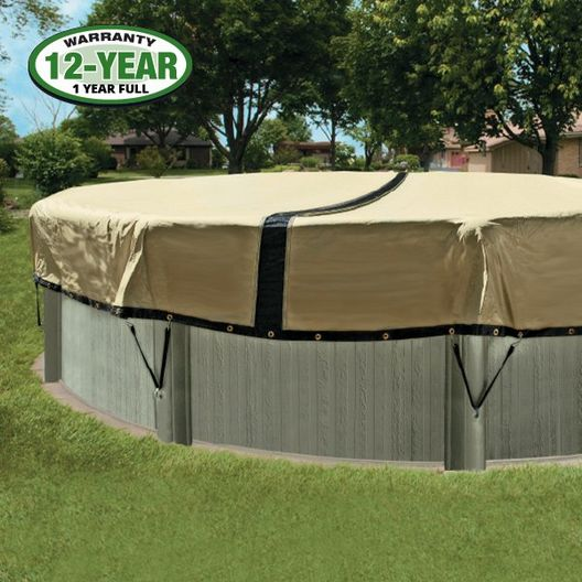 Ultimate 3000 Winter Pool Cover 12x18 ft Oval