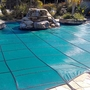Mesh 12' ft x 24' ft Rectangle Inground Pool Safety Cover; Green, 12 Yr Warranty