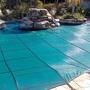 Original Mesh 18' x 36' Rectangle Inground Pool Safety Cover; Green, 12 Yr Warranty