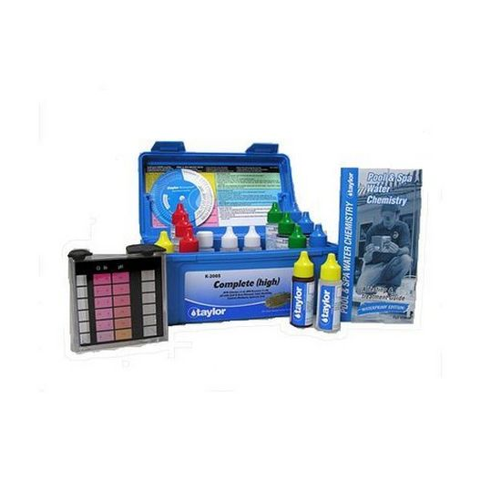 Taylor Technologies  K-2005C Service Complete High Range DPD Pool and Spa Water Test Kit