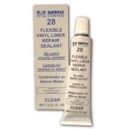 E-Z Patch 28 Clear Flexible Sealant  Patches for Vinyl Liner Repair