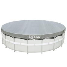 Intex - 18 Ft Round Deluxe Pool Cover for Metal Frame Pools