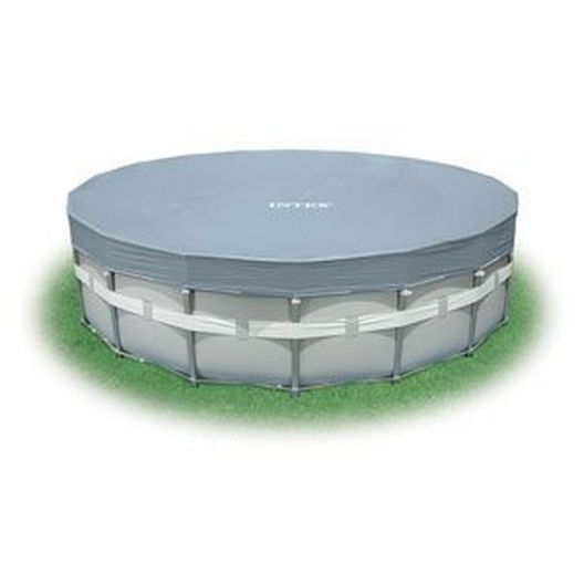 Intex  18 Ft Round Deluxe Pool Cover for Metal Frame Pools