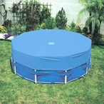 Intex - 12 Ft Round Pool Cover for Metal Frame Pools - 400661
