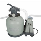 "Intex - 26651EG Krystal Clear 16"" Sand Filter & Pump for Above Ground Pools - 400662"