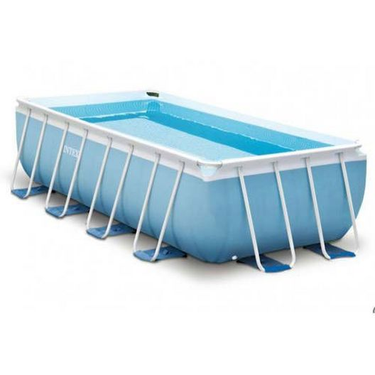 Intex  Prism Frame 16 x 8 Rectangle Pool Package
