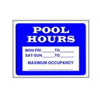 Pool Hours / Max. Occupancy