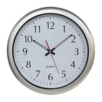 Silver Series 16 inch Clock - 400706
