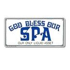 Poolmaster  God Bless Our Spa Sign