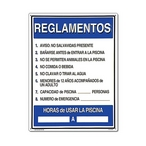 Pool Rules In Spanish Sign - 400715