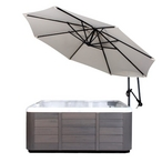 10 Ft Market Hot Tub Umbrella, Beige